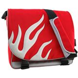 42 degrees Notebooktasche Rot-Silber