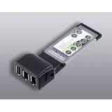 Ultron Express Card 3-Port Firewire/USB 2.0 Combo Adapter