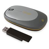 Kensington Ci75m Wireless Portable Mouse Grau / Schwarz