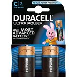 Duracell Ultra Power C / Baby Alkaline 1.5 V 2er Pack