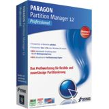 Paragon Partition Manager 12.0 Professional Edition 32/64 Bit Deutsch Utilities FPP PC (DVD)