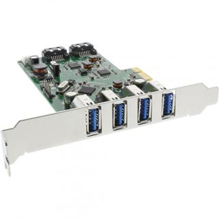 InLine 76664C 6 Port PCIe inkl. Low Profile Slotblech / Low Profile retail