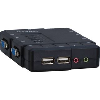 Inter-Tech KVM-CS-41UA 4-fach VGA-KVM-Switch