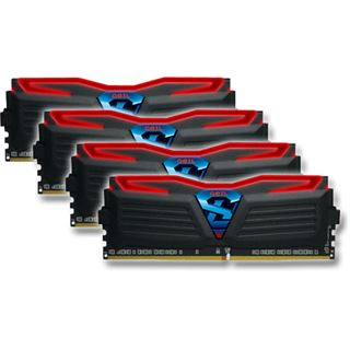 16GB GeIL Super Luce rot DDR4-3000 DIMM CL16 Quad Kit