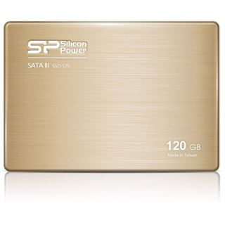 "120GB Silicon Power Slim S70 2.5"" (6.4cm) SATA 6Gb/s MLC Toggle (SP120GBSS3S70S25)"