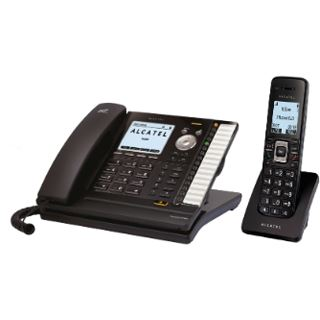Alcatel-Lucent Temporis IP715 SIP PoE inkl. IP15 Dect handset