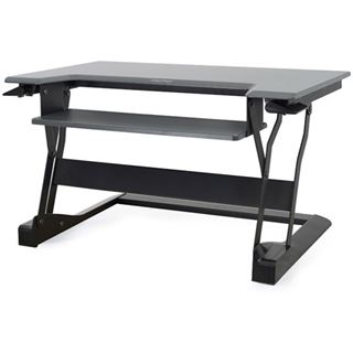 Ergotron WORKFIT-T Stand Table Top schwarz