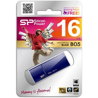 16 GB Silicon Power Blaze B05 blau USB 3.0