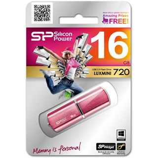 16 GB Silicon Power LuxMini 720 pink USB 2.0