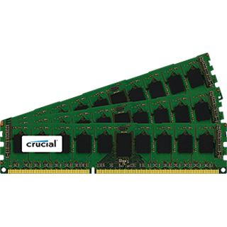 24GB Crucial CT3KIT102472BB160B DDR3-1600 regECC DIMM CL11 Tri Kit