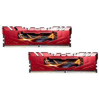 8GB G.Skill RipJaws 4 rot DDR4-2666 DIMM CL15 Dual Kit