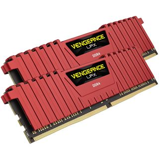 8GB Corsair Vengeance LPX rot DDR4-2666 DIMM CL16 Dual Kit