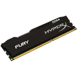 4GB HyperX FURY schwarz DDR4-2400 DIMM CL15 Single