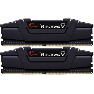 8GB G.Skill RipJaws V schwarz DDR4-3200 DIMM CL16 Dual Kit