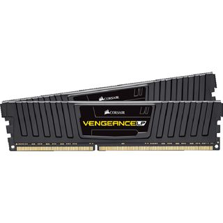 8GB Corsair Vengeance LP Series schwarz DDR3L-1600 DIMM CL9 Dual Kit