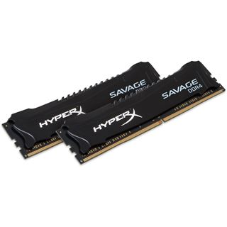 8GB HyperX Savage DDR4-2800 DIMM CL14 Dual Kit