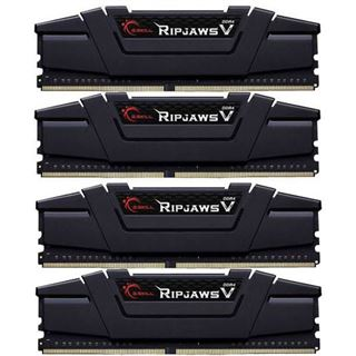 16GB G.Skill RipJaws V schwarz DDR4-3600 DIMM CL17 Quad Kit