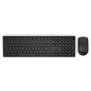 Dell KM636 Wireless Combo Deutsch USB schwarz