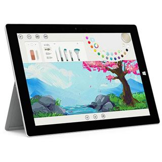 "10.8"" (27,40cm) Microsoft Surface 3 WiFi / Bluetooth V4.0 64GB schwarz"