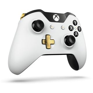 Microsoft Xbox One Wireless Controller Lunar White Special Edition weiß XBOX One