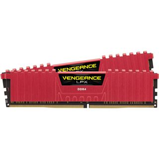 8GB Corsair Vengeance LPX rot DDR4-4000 DIMM CL19 Dual Kit