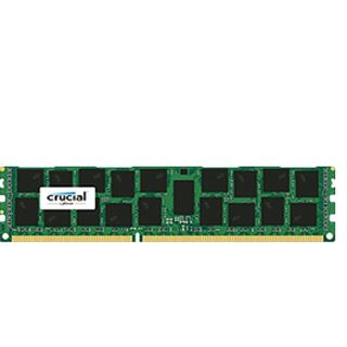 16GB Crucial CT16G3ERSLD4160B DDR3L-1600 regECC DIMM CL11 Single