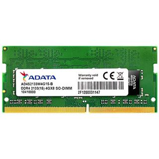 4GB ADATA AD4S2133W4G15 DDR4-2133 SO-DIMM CL15 Single