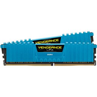 16GB Corsair Vengeance LPX blau DDR4-3000 DIMM CL15 Dual Kit