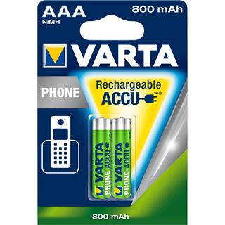 Varta Phone Power Akku AAA / Micro Nickel-Metall-Hydrid 750 mAh 2er Pack
