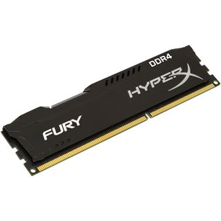 8GB HyperX FURY Rev.2 schwarz DDR4-2400 DIMM CL15 Single
