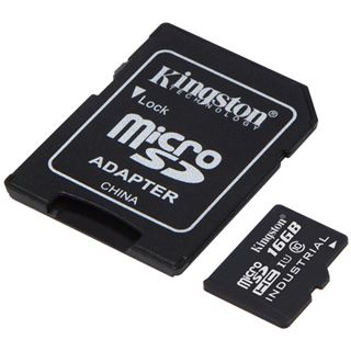 16 GB Kingston UHS-I Industrial Temperature SDHC Class 10 Retail