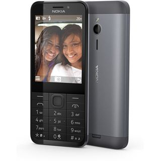 Nokia Microsoft 230 Single-SIM dark silver