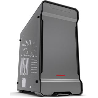 Phanteks Enthoo Evolv ATX anthrazit mit Sichtfenster Tempered Glass Midi Tower ohne Netzteil anthrazit