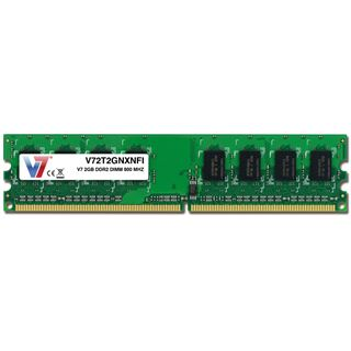 2GB V7 V72T2GNXNFI DDR2-800 DIMM CL6 Single