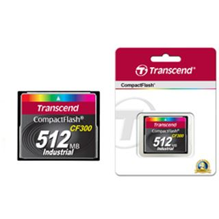 512 MB Transcend TS512MCF300 Compact Flash TypI Retail
