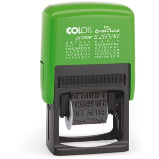 "COLOP Wortbandstempel ""Green Line"" Printer S220/W"