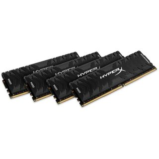 64GB HyperX Predator DDR4-3000 DIMM CL15 Quad Kit