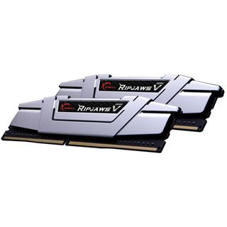 16GB G.Skill RipJaws V silber DDR4-2666 DIMM CL15 Dual Kit