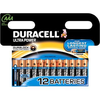 Duracell Alkaline Micro AAA LR03 1.5V
