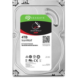 4000GB Seagate IronWolf NAS SATA-6 ST4000VN008 64MB