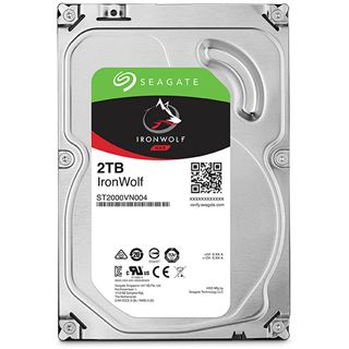 2000GB Seagate IronWolf NAS SATA-6 ST2000VN004 64MB