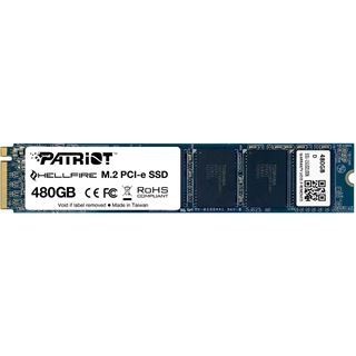 480GB Patriot Hellfire M.2 2280 PCIe 3.0 x4 32Gb/s / SATA MLC (PH480GPM280SSDR)