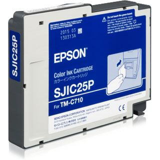Epson SJIC25P CARTRIDGE FOR TM-C710