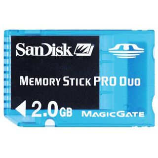 2 GB SanDisk Pro Duo Gaming Memory Stick Retail