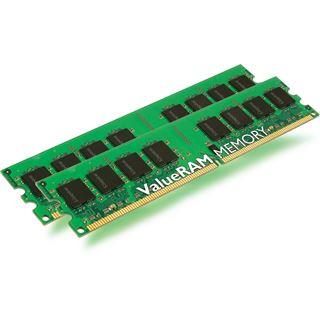 2GB Kingston ValueRAM DDR2-800 DIMM CL5 Dual Kit