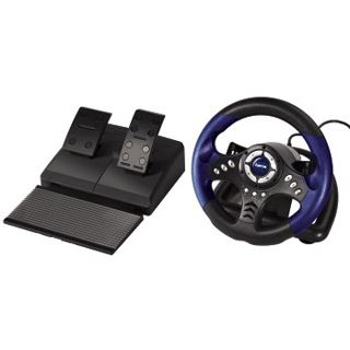 Hama Racing Wheel Thunder V18 USB schwarz/blau PC