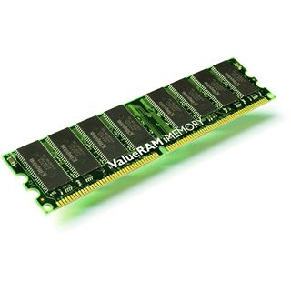 512MB Kingston Value DDR-400 DIMM CL3 Single