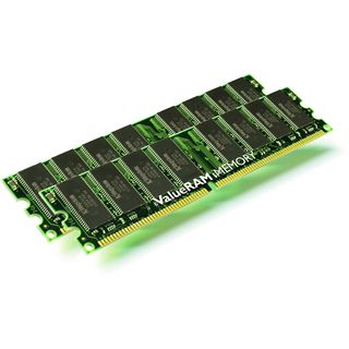 2GB Kingston ValueRAM DDR-400 ECC DIMM CL2.5 Single