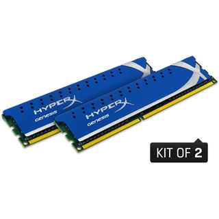 4GB Kingston HyperX DDR2-800 DIMM CL5 Dual Kit