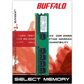 2GB Buffalo Value DDR2-800 DIMM CL5 Single